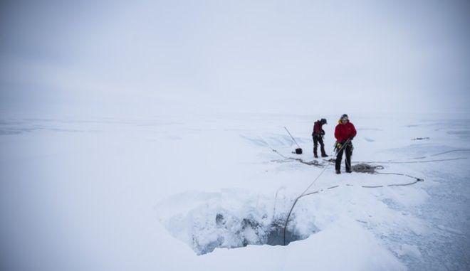 Πάγοι στη Γροιλανδία