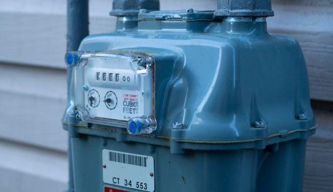 Μετρητής φυσικού αερίου