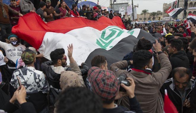 Διαδηλώσεις στη Βαγδάτη.