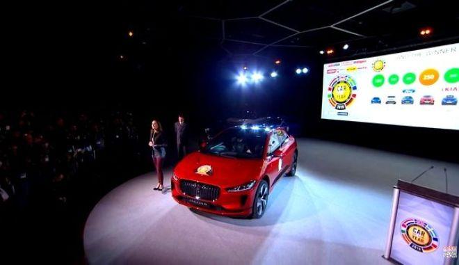 "H Jaguar I-Pace ""Αυτοκίνητο της Χρονιάς 2019"""
