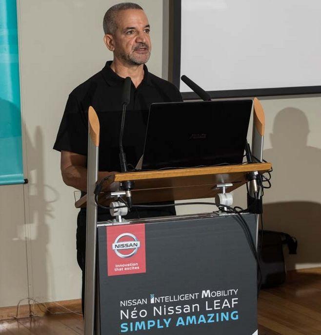 Ο Τάκης Θεοχαράκης Αντιπρόεδρος και Διευθύνων Σύμβουλος της Nissan