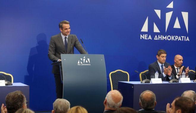 Ο πρωθυπουργός, Κ. Μητσοτάκης