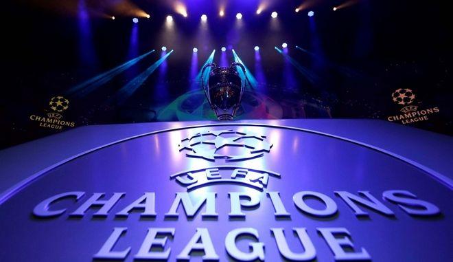 LIVE: Η κλήρωση του Champions League