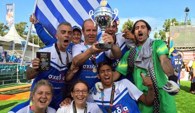 Παγκόσμιο Κύπελλο Αστέγων: Με δύο κούπες γύρισε η Ελλάδα