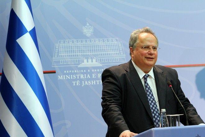 Ο Νίκος Κοτζιάς από επίσημη επίσκεψη στην Αλβανία