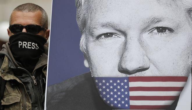 Ο ιδρυτής του WikiLeaks Τζουλιάν Ασάνζ