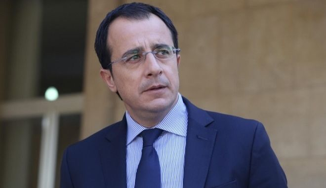 ο υπουργός Εξωτερικών της Κυπριακής Δημοκρατίας Νίκος Χριστοδουλίδης