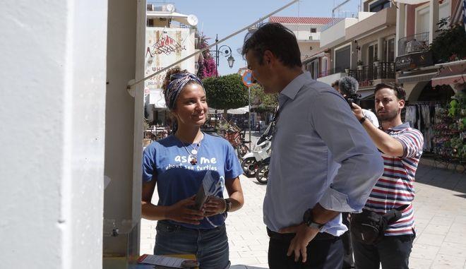 Μητσοτάκης: Ο Τσίπρας αντιπροσωπεύει το χθες