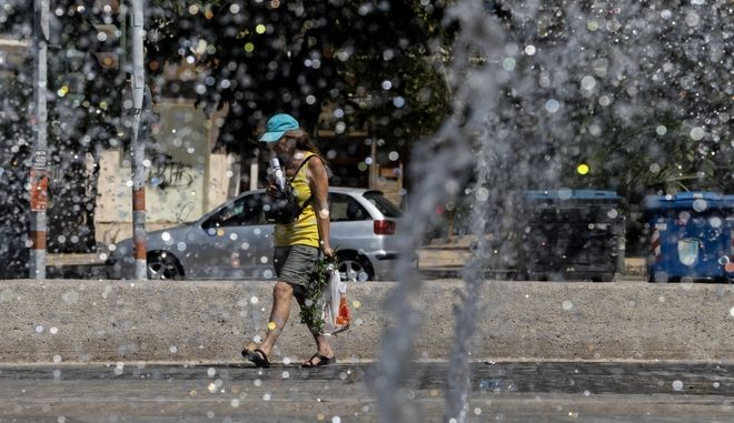 Ζέστη στην Αθήνα