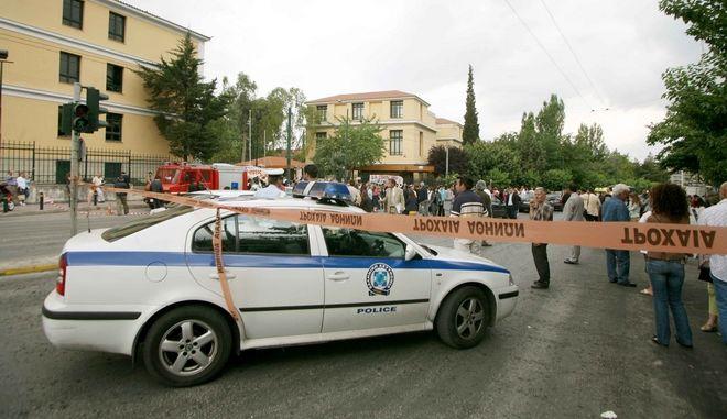 Έρευνες της Αστυνομίας στα δικαστήρια της Ευελπίδων μετά από τηλεφώνημα για βόμβα