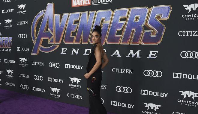 Avengers καρέ από την πρεμιέρα