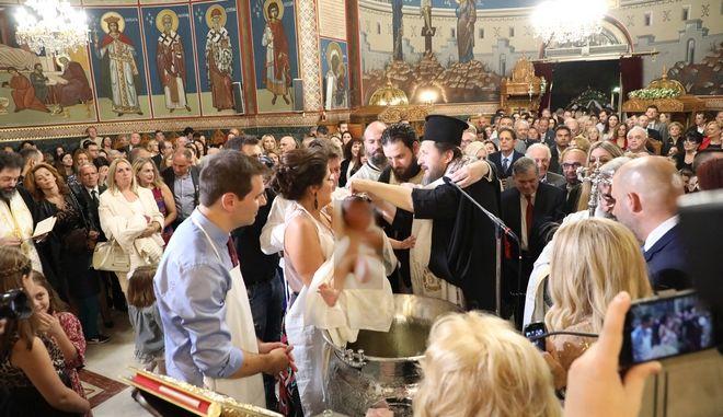 Βάφτιση Αλίκης Βουγιουκλάκη