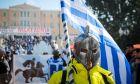 Συλλαλητήριο ενάντια στη συμφωνία των Πρεσπών από παμμακεδονικές οργανώσεις και επιτροπές στο Σύνταγμα, την Κυριακή 20 Ιανουαρίου 2019.