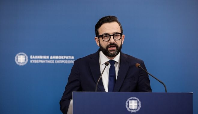 Ο νέος κυβερνητικός εκπρόσωπος Χρήστος Ταραντίλης.