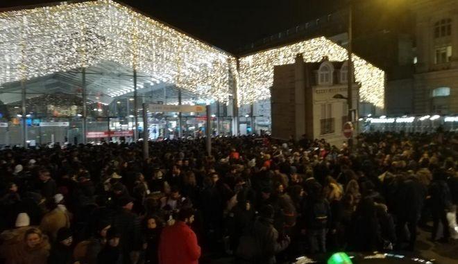 Εκκένωση του σταθμού Gare du Nord στο Παρίσι