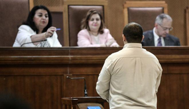 Απολογίες κατηγορουμένων στην δίκη της Χρυσής Αυγής την Τετάρτη 17 Ιουλίου 2019. (EUROKINISSI/ΤΑΤΙΑΝΑ ΜΠΟΛΑΡΗ)