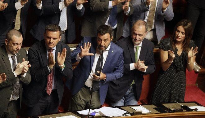 """Ιταλία: """"Καλές"""" οι προκαταρκτικές συνομιλίες μεταξύ Κινήματος 5 Αστέρων και PD για σχηματισμό κυβέρνησης"""