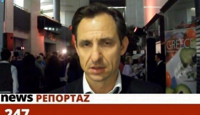 """Χατζημαρκάκης στο NEWS 247: """"Η νέα δόση δεν αξίζει, χωρίς σχέδιο ανάπτυξης"""""""