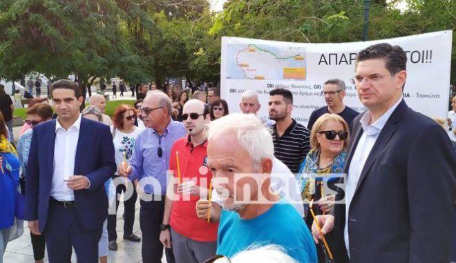 """Ηχηρή διαμαρτυρία: """"Η Ηλεία δεν μπορεί να θρηνεί άλλες ανθρώπινες ζωές στον δρόμο - καρμανιόλα"""""""