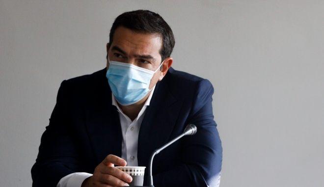 O πρόεδρος του ΣΥΡΙΖΑ -ΠΣ, Αλέξης Τσίπρας