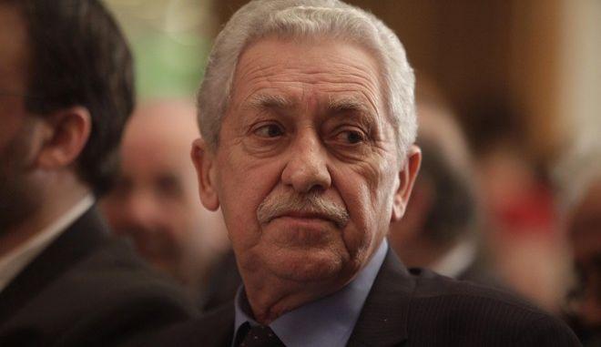 ΑΘΗΝΑ- «ΔΗΜΑΡ-Προοδευτική Συνεργασία» παρουσίασε σε εκδήλωση ο Φώτης Κουβέλης.(EUROKINISSI-ΓΙΩΡΓΟΣ ΚΟΝΤΑΡΙΝΗΣ)