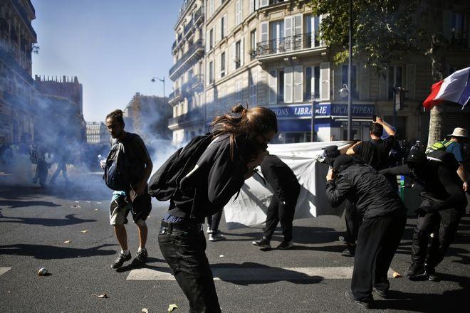 Επεισόδια στην πρωτεύουσα της Γαλλίας