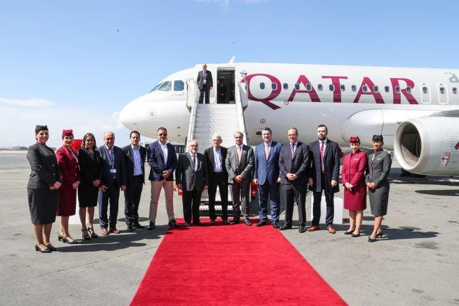 Προσγειώθηκε η Qatar Airways στη Θεσσαλονίκη