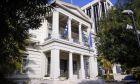 Το κτίριο που στεγάζεται το ελληνικό υπουργείο Εξωτερικών