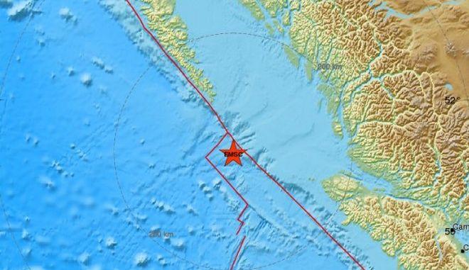 Καναδάς: Ισχυρός σεισμός 6,5 Ρίχτερ κοντά στο Βανκούβερ