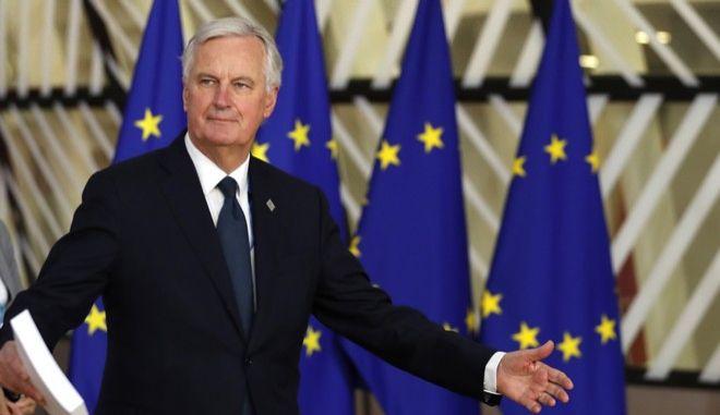 Ο επικεφαλής διαπραγματευτής της ΕΕ για το Brexit, Μισέλ Μπαρνιέ