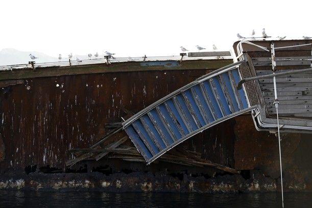 Πλοίο στην Ελευσίνα
