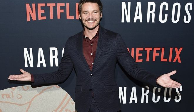 """In this Aug. 21, 2017 photo, actor Pedro Pascal attends the Netflix series """"Narcos"""" season three premiere at AMC Loews Lincoln Square, in New York. The third season of Narcos debuts Friday, Sept. 1. (Photo by Evan Agostini/Invision/AP)"""