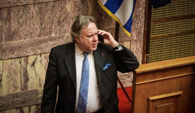 Ο Γιώργος Κατρούγκαλος στη Βουλή