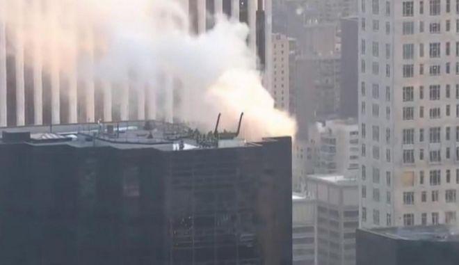 Πυρκαγιά στον πύργο Τραμπ στη Νέα Υόρκη