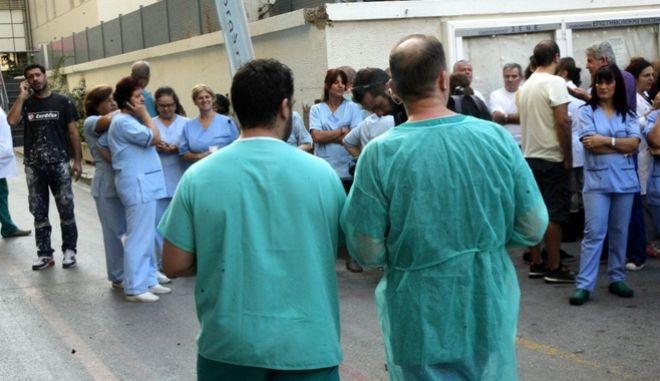 Νοσηλευτικό προσωπικό - Φωτό αρχείου