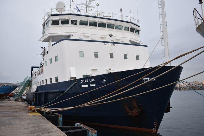 Πλοίο Ocen Link στο Λαύριο