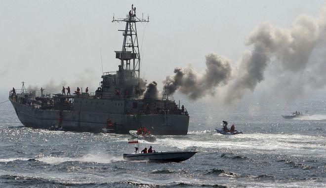 Ιρανικό πλοίο (φωτογραφία αρχείου)