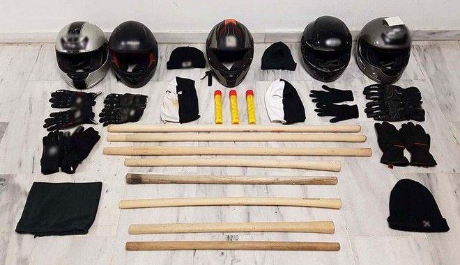 Θεσσαλονίκη: Συνελήφθησαν οκτώ χούλιγκαν με εξοπλισμό επεισοδίων