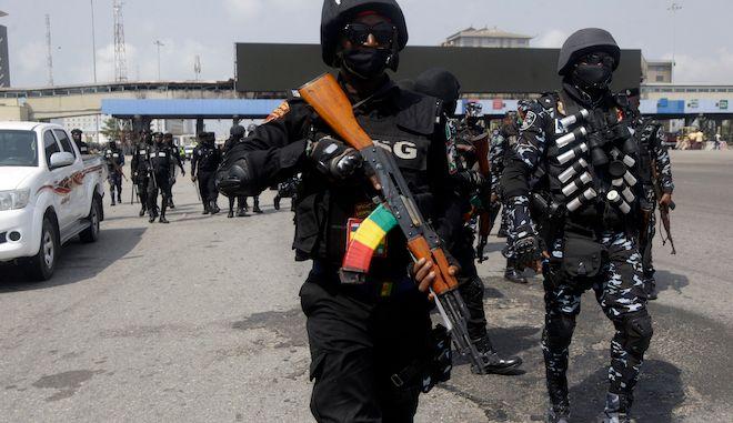 Αστυνομικές δυνάμεις στην Νιγηρία