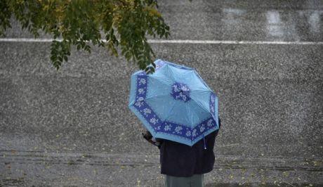 Βροχόπτωση στα Τρίκαλα