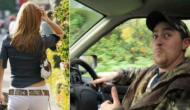 """Πρόστιμο σε οδηγό γιατί χάζευε τα """"προσόντα"""" περαστικής"""