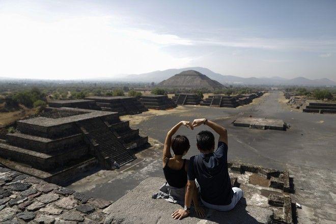 Πυραμίδα της Σελήνης, Μεξικό