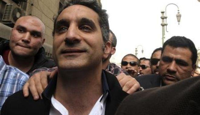 Ελεύθερος με εγγύηση ο ηθοποιός που σατίρισε τον Μόρσι