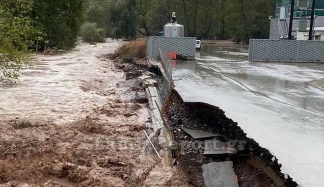 """""""Ιανός"""": Μετρά πληγές η Φθιώτιδα μετά το πέρασμα του κυκλώνα"""