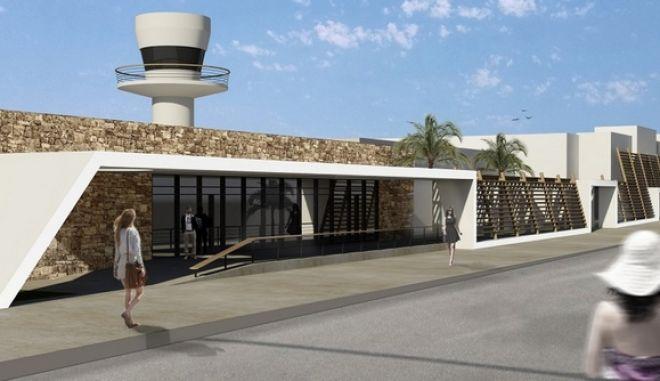 Από το αεροδρόμιο της Μυκόνου ξεκινά η Fraport τις ανακατασκευές