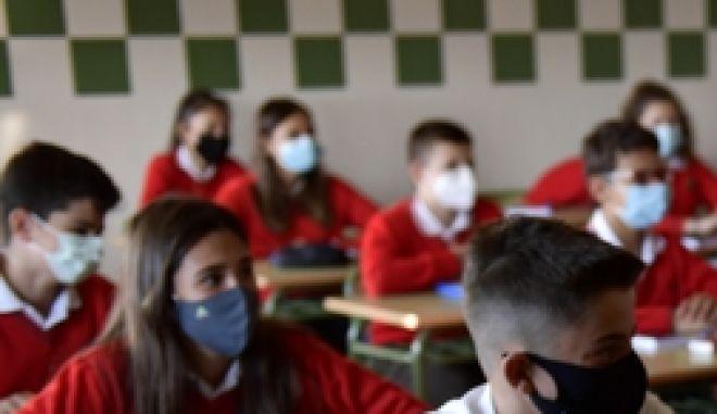 Μαθητές σε σχολεία στην Ισπανία