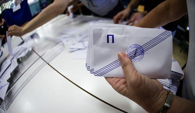 Κλείσιμο κάλπης για τον β' γύρο των αυτοδοικητικών εκλογών την Κυριακή 2 Ιουνίου 2019.