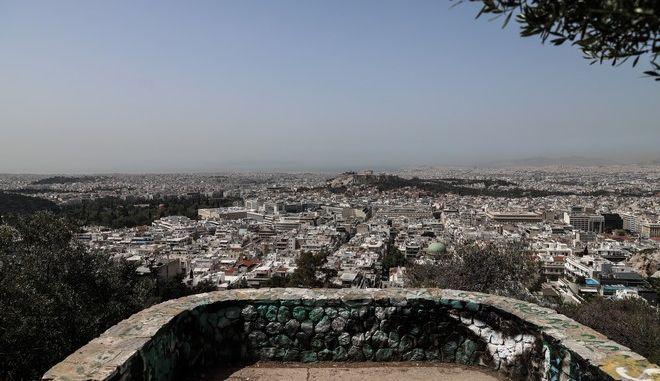 Σκόνη στην Αθήνα