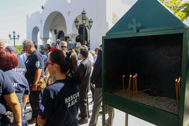 Μνημόσυνο για τα 102 θύματα της τραγωδίας στο Μάτι