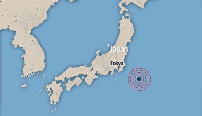 Ιαπωνία: Σεισμός 6,4 Ρίχτερ νοτιοανατολικά του Τόκιο